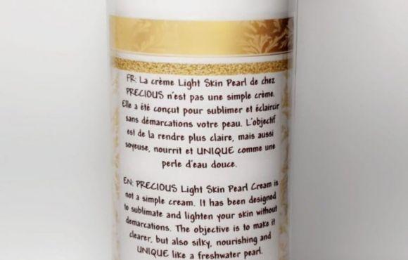 Crème teint clair/métisse Precious